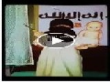 Muslim Girl Beheads Doll During Instructional Video