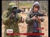 More Ukrainian Females Go Through Combat Training To Prepare For Russian Invasion
