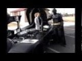 Man With Batman Suit Travels Cross-country