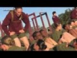 Morning Physical Fitness Training - US Marine Recruits Female