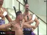 Maori Haka Performance For March On Washington 50th Anniversary