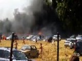 More Than 40 Cars Burned In A Moment