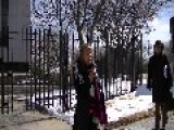 Medea Benjamin Of Code Pink Speaks At Egyptian Embassy On Being Beaten And Deported