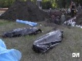 Mass Grave Made By Russian Terrorists Found In Slavyansk, Eastern Ukraine