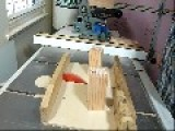 Man Crafts A Thing Made From Wood