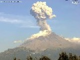 Mexican Volcano Reupts - Spews Ash Into Atmosphere