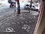 Motorcyclist Loses Leg In A Traffic Accident