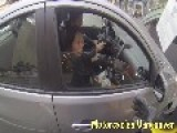 Motorcycle Hit And Run - Close Calls - Bad Drivers By Motorcycles Vancouver Part 1