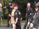 Meanwhile In Canada Toronto Frenzied Muslim Mob Attacks And Beats Jewish Protesters