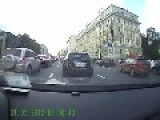 More Russian Road Rage, 2 Sissy Boys Going At It!!