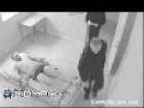 Mental Patient Attacks Two Securityguards