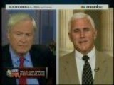 Mike Pence Wants To Protect GW Bush Tax Cuts For The Filthy Rich
