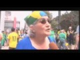Million People March Against President In Brazil
