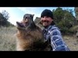 Man And Grizzly Bear