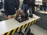 Miniature Porsche Engine Emits Impressive Sound