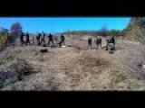 Mortar Fire Agains APU Positions, Division Slavyanskiye Tyazhiki