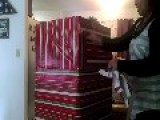 Mom Surprised At Christmas By Daughter In A Box
