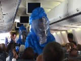 "Man Learns The Hard Way Not To Shout ""I Have Ebola"" On An Airplane WATCH"