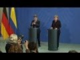 Merkel Says Sanctions On Russia Must Continue
