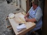 Making Pasta Shells By Hand - Bari, Italy