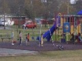 Marine Corps Kids Respect On The Playground. COLORS!!