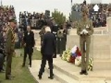 Moving Ceremonies To Mark Centenary Of The Gallipoli Campaign