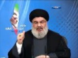 Message From Sayyed Hassan Nasrallah Hezbollah To Israel