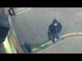 Masturbating Burglar Shot During Break-In