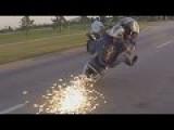 Motorcycle Wheelie Fail