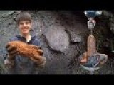 Metal Detecting Finds 150 Year Old LIVE Artillery Shell! Best Dig! From Dirt To Defusing