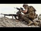 Marines Taking Casualties During Fierce Heavy Intense Firefight In Afghanistan