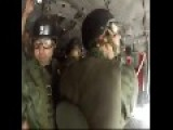 Mexican Paratrooper Gets Hung Up And Towed Behind Plane