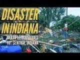 Multiple Tornadoes Hit Central Indiana, Destroyed Homes 24 Agustus 2016