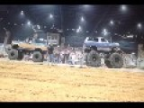 Monster Truck, Tug Of War, Ends In An Explosion