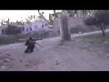 MUST SEE Amazing Footage From Syria Shoes Missle Going Right Over Mujahids Head And Then The Mujahid Fires A Missle Back