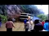 Many Peoples Die When A Bus Falls Into Gorge