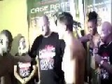 MMA Weigh In. SPARKS FLY!