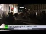Masked Men Break Anti-Kiev Gov Protest Camp