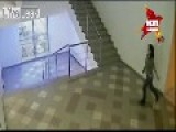 MARIO EDITION - Russian Girl Jumps Over Railing