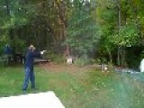 Man Almost Kills Himself Shooting Gun For The First Time