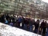 Mobilisation Of Men In Kiev 26 01 2015