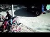 Motorcycle Theft Caught On Camera Cctv