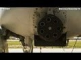 MONSTROUS KILLER A-10 Thunderbolt II Aircraft Landing And Takeoff - CODE 1079
