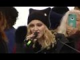 Madonna Threatens To Bomb The White House - During Women's March Speech In D.C