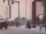 Mexican Federal Police Vs Cartel Del Golfo
