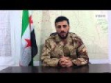 Major Issam Al-Reis, FSA Spokesperson Speaks About The Southern Front English