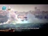 Moving Assadist Tank Destroyed ByTOW ATGM In Mastouma Road, Idlib