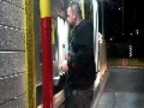 McDonalds Late Nite Drive Thr.... Walk-thru - Drunk Wants A Massage & Kiss