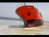 Mysterious Abandoned Oil Tanker Is Found On Liberian Beach