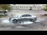 Mercedes Benz C63 AMG Amazing Burnout